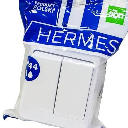 Łącznik świecznikowy HERMES IP44 ŁNT-5 0332-02