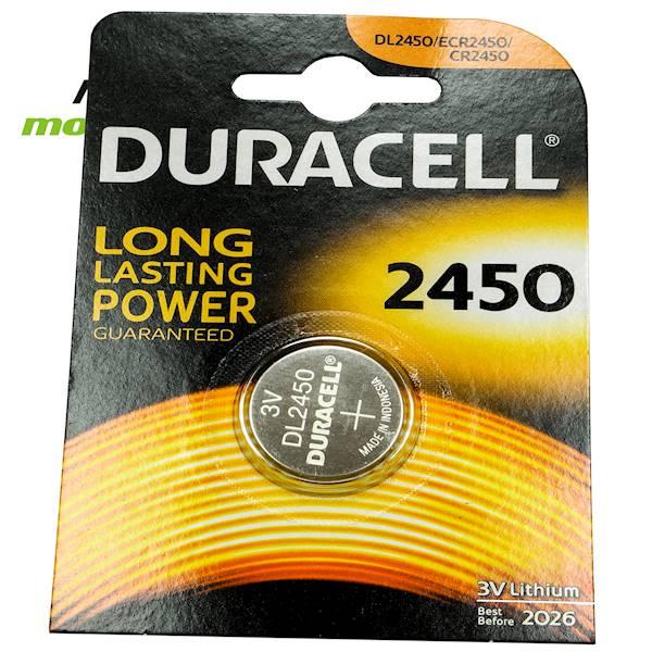Bateria DL 2450 Duracell 3V