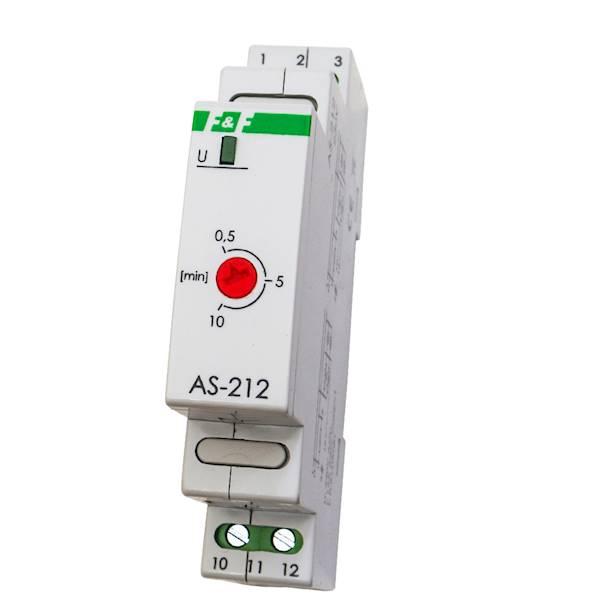 Automat schodowy AS-212 230V 0,5-10min 16A F&F