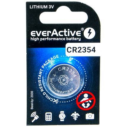 1x bateria litowa mini everActive CR2354