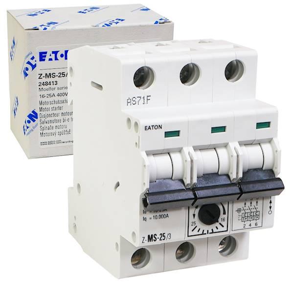 Wyłącznik silnikowy 3P 11kW 16-25A 248413 EATON