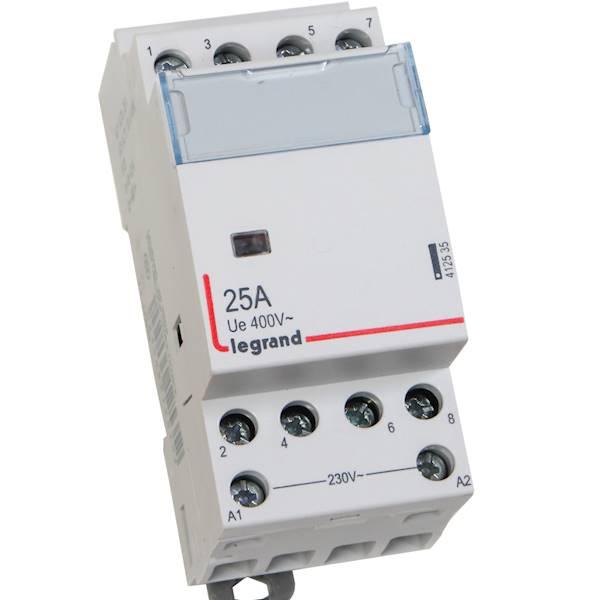 Stycznik modułowy 25A 4Z 0R 230V AC SM425 Legrand