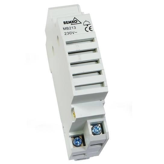 Dzwonek modu na szynę TH 230V AC A20-MB213