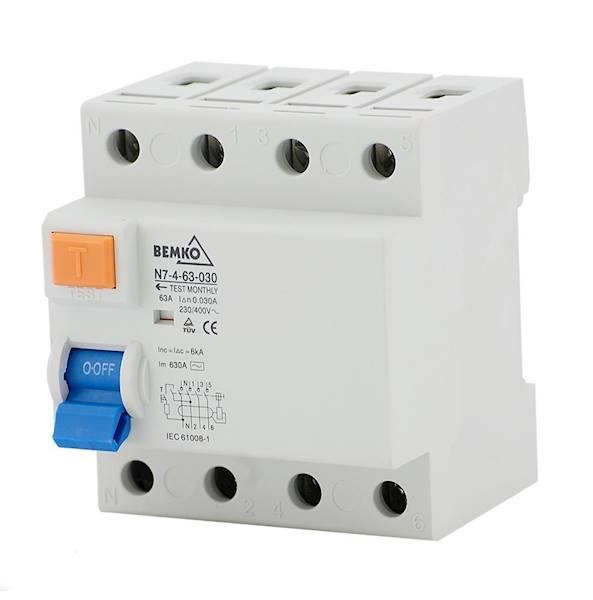 Wył. różnico prąd. 4P 40A 30mA A05 N7-4-40 030