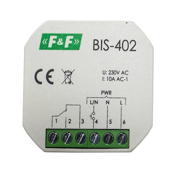 Przekaźnik impulsowy wł-wy podty 10A 2Z BIS-402