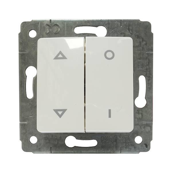 CARIVA 773604 łącznik rolet biały