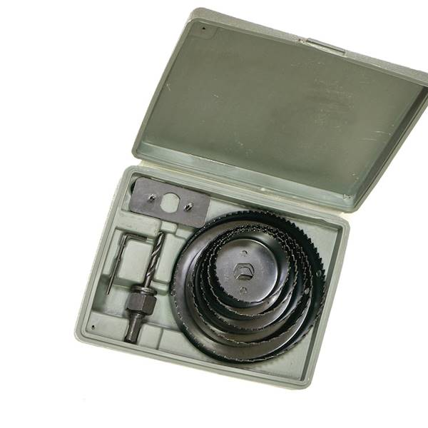 Wycinarka otwornica 64-127mm kpl. 8szt. 850