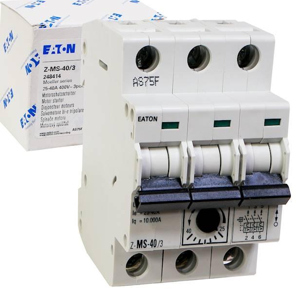 Wyłącznik silnikowy 3P 18,5kW 25-40A 248414 EATON