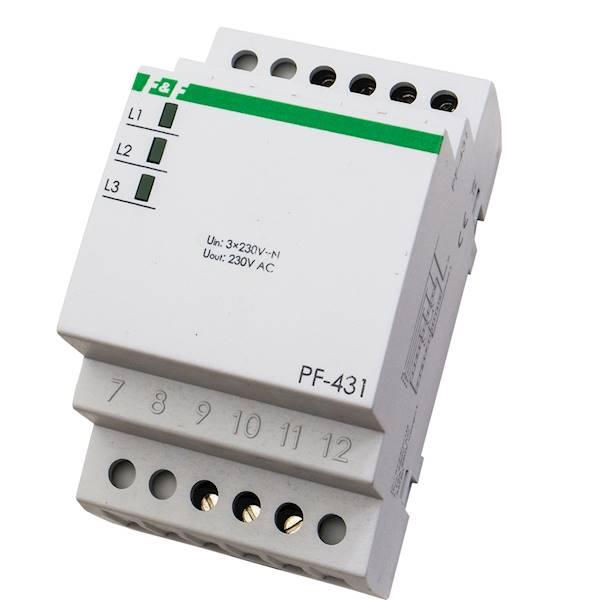 Automatyczny przełącznik Faz 16A 2x230+N PF-431