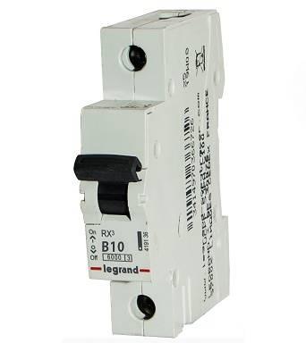 Wył.nadpr.6kA AC 1p B10A S-301 Legrand RX3 419134