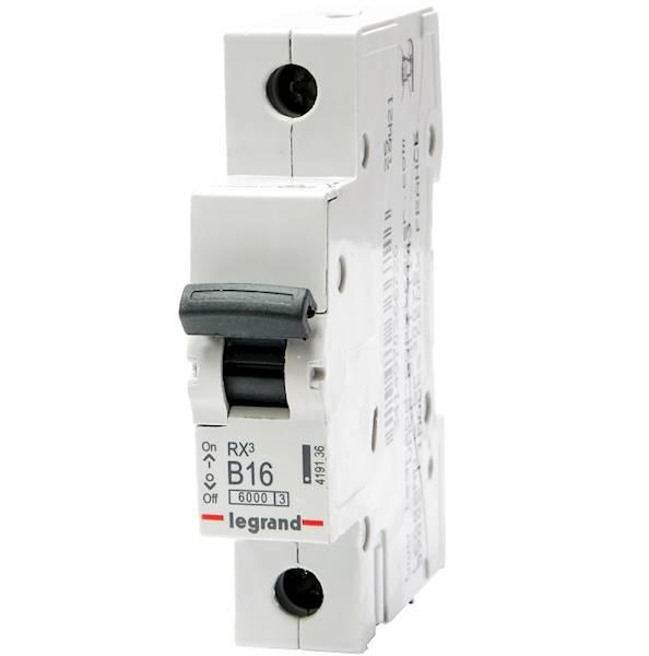 Wył.nadpr.6kA AC 1p B16A S-301 Legrand RX3 419136