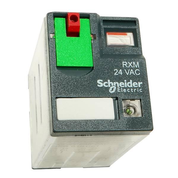 Przekaźnik schneider 2P 12A 24V AC RXM2AB2B7