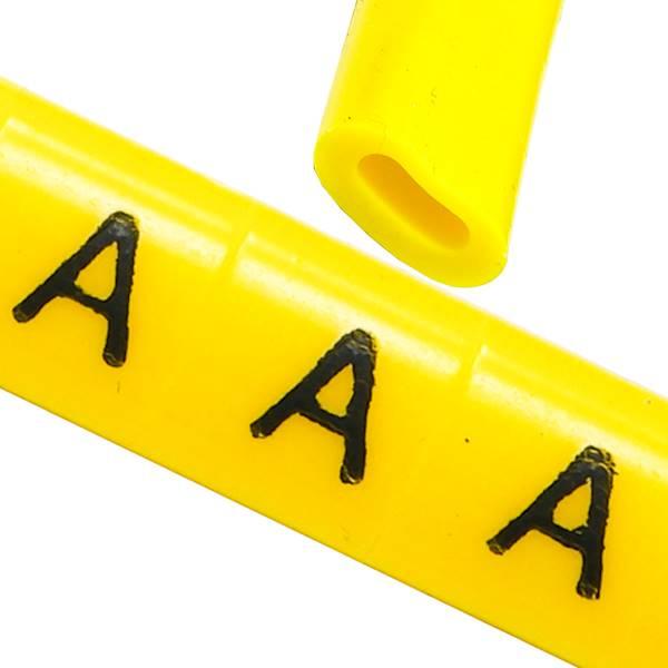 Oznacznik przewodów OZ-0 A żółte 100szt