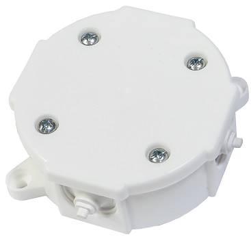 Puszka n/t 4x 2.5mm2 80x 38mm IP41 bi P-0 0211-00