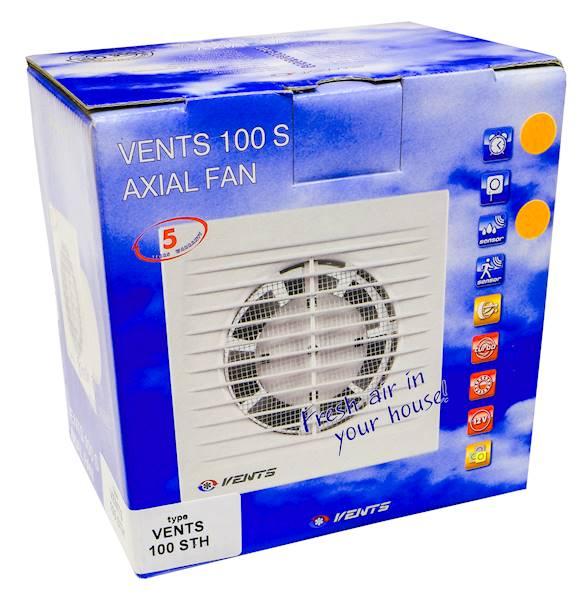 Wentylator łazienkowy 100STH higrostatem POLO WCH