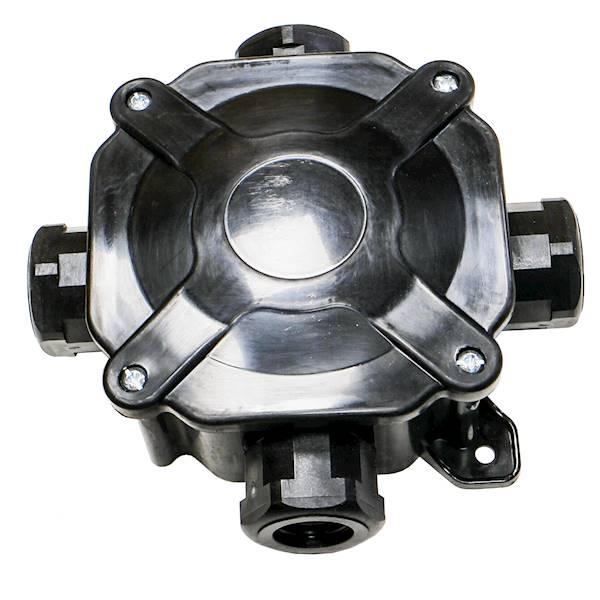 Puszka n/t hermetyczna 75x75x33 5x4mm2 A.0035C