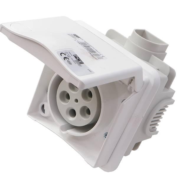 Gniazdo podtynkowe 16A 5P 400V 885-6v PCE