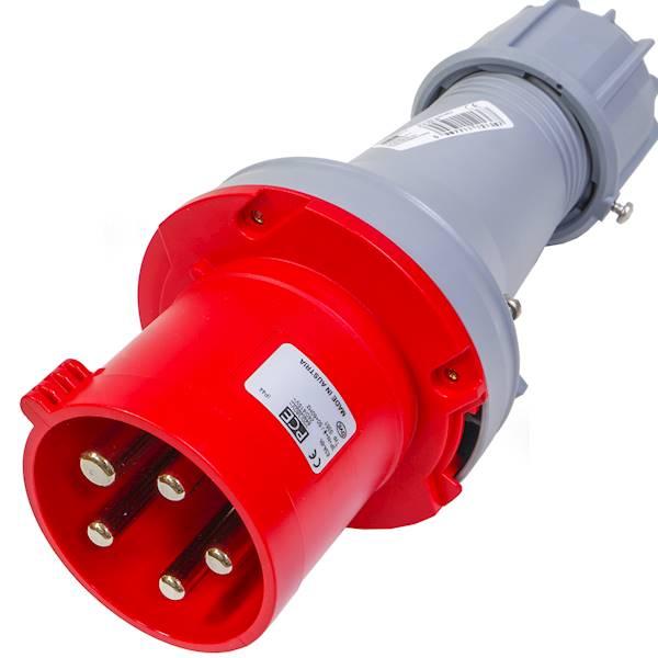 Wtyczka przenośna 63A 5P 400V IP44 TWIS 0351-6 PCE