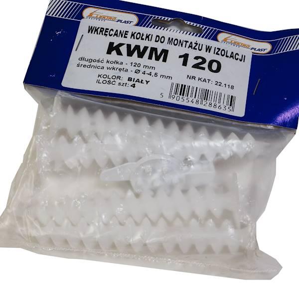Kołek montażowy do styropianu KWM-120 22.118 4szt.