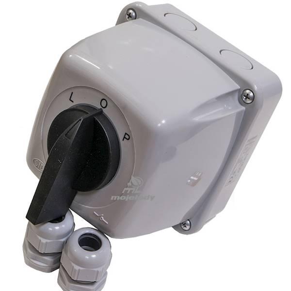 Łącznik L-0-P 3P 16A Łuk 16-43 obu IP44 921616