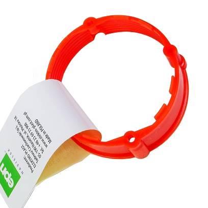Pierścień dystansowy PK-60 12mm czerwony IP20