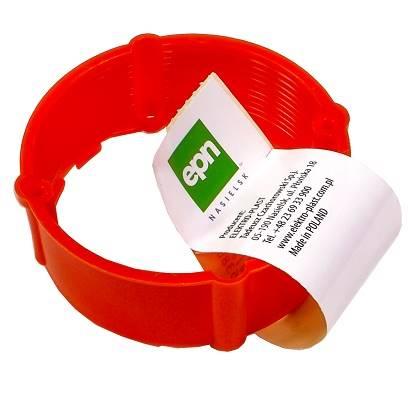Pierścień dystansowy PK-60 24mm czerwony IP20