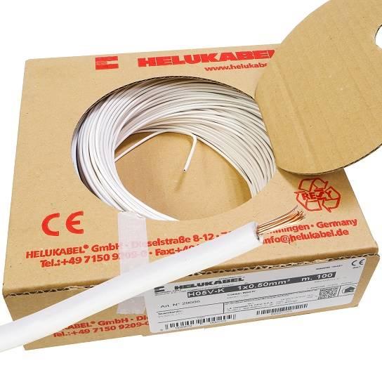 Przewód HELUKABEL Lgy linka 0,5mm biały 100m