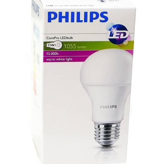 Żarówka LED 11W E27 ciepła Philips 1055Lm 75W