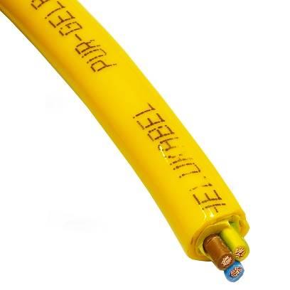Przewód elastyczny MULTIFLEX PUR 3G1 żółty 22206