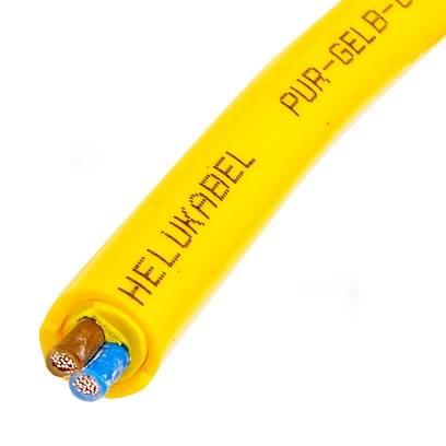 Przewód elastyczny MULTIFLEX PUR 2G1,5 żółty 22210