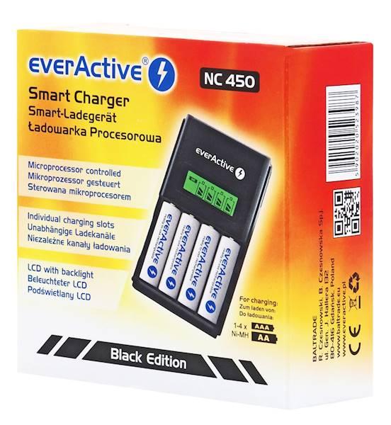 ładowarka everActive NC-450 Black Edition