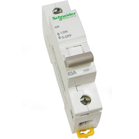 Rozłącznik mod.63A 1P SW schneider A9S62163