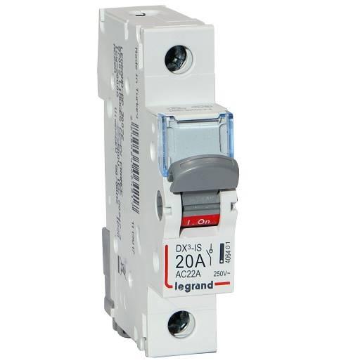 Rozłącznik modułowy 20A 1P FR301 legrand