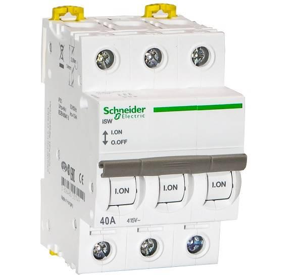 Rozłącznik mod.40A 3Z iSW schneider A9S65340