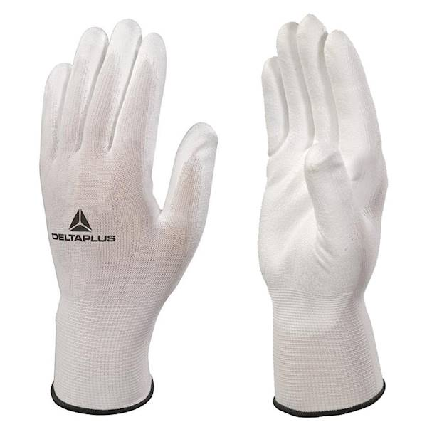Rękawice High Tech do prac precyzyjn białe roz 10