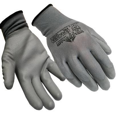 Rękawice dziane z poliestru Poliuretanem 9