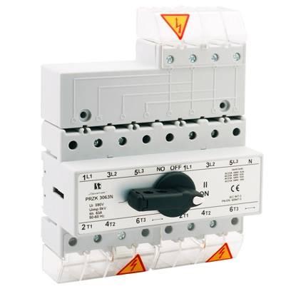sieć-agregat 63A 4P PRZK-4063\W02 SPAMEL