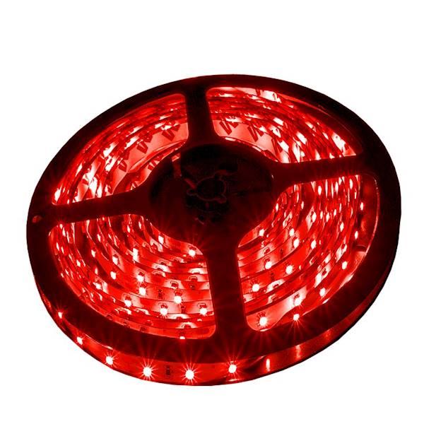Taśma 300 LED 3528SMD 24W czerwona 12V PRE IP20 5m