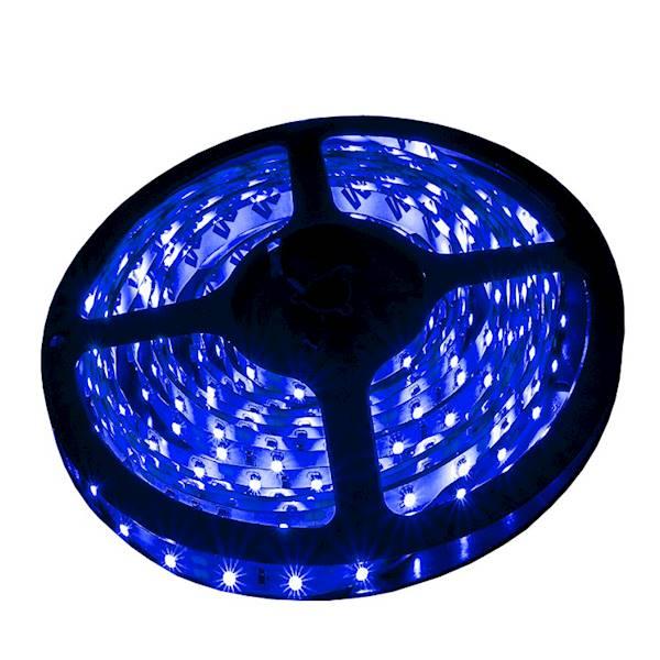 Taśma 300 LED 3528SMD 24W BLUE 12V PRE IP20 5m
