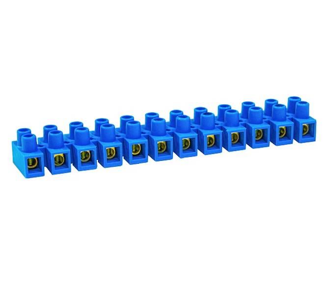 Listwa zaciskowa PA niebieska 12 Torów B-10