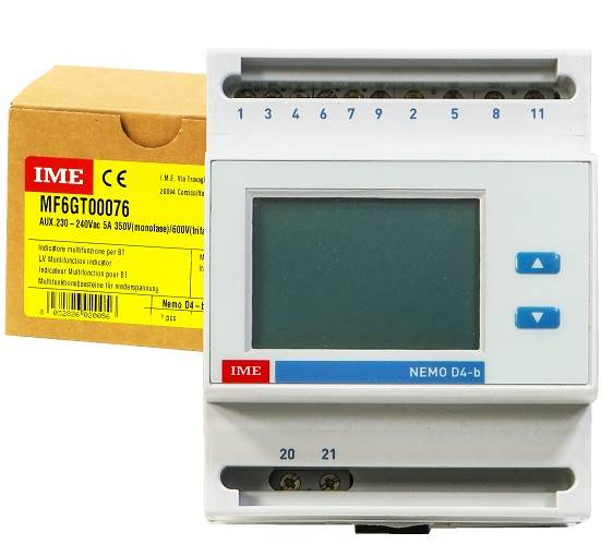 Miernik parametrów sieci NEMO D4-B MF6GT00076