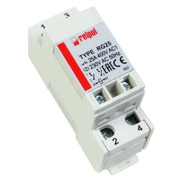 Przekaźnik przemysłowy 2Z 25A 230V AC RELPOL