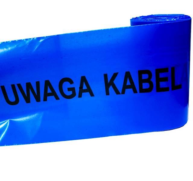 Folia kablowa niebieska z nadrukiem PTS 8 20 100m