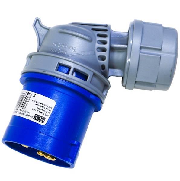 Wtyczka prze kąt 16A 3P 230V SHARK 8013-6TT PCE