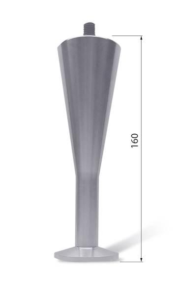 NOGA ALUMINIOWA NA 138-T H160 M10