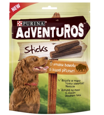 Adventuros Sticks o smaku bawoła