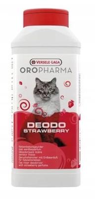 Dezodorant do kuwety Versele Laga OroPharma Deodo Flower 750g - truskawka