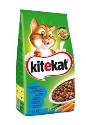 Karma dla kota KITEKAT Tuńczyk z warzywami 1,8kg