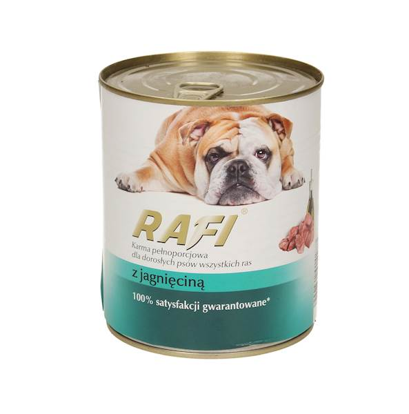 Puszka dla psa RAFI 800g Z jagnięciną