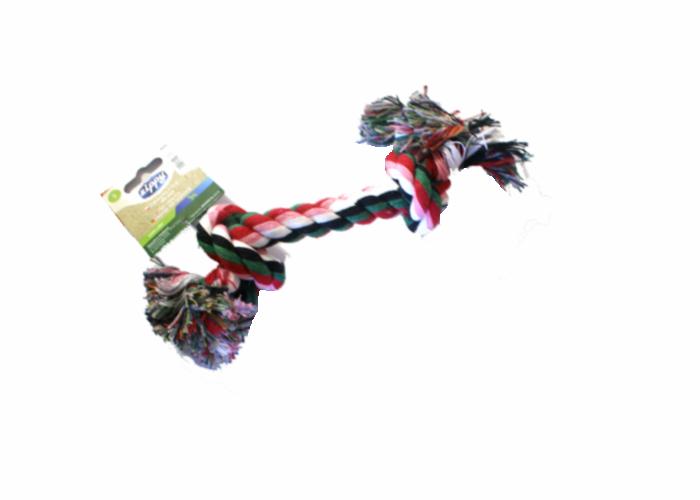 Kolorowy sznur dla psa 27 cm
